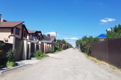 Главная улица СНТ Космос